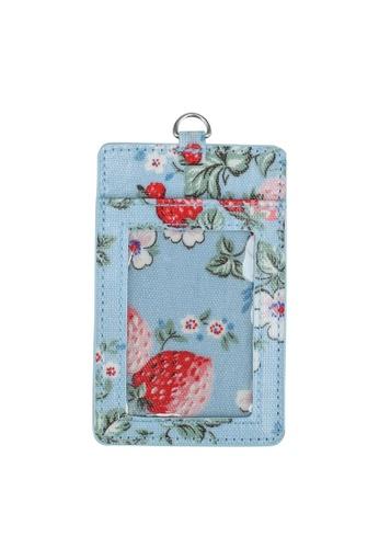Cath Kidston blue Mini Wild Strawberry ID Tag A6211AC229A714GS_1