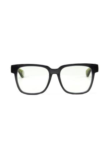 A Bathing Ape green Designer Optical Frames AB029AC14ANTSG_1