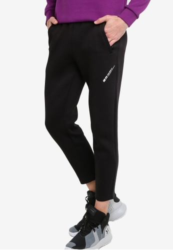361° black Basketball Series Knit Cropped Pants 3A409AAE20590AGS_1