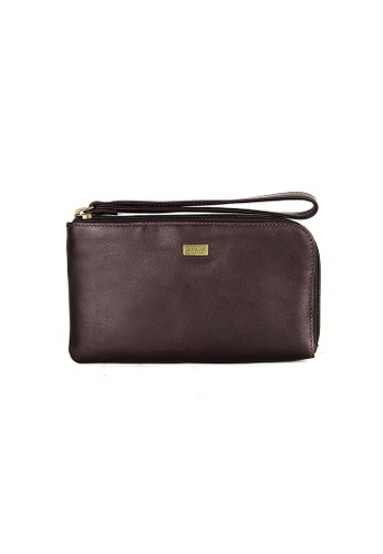 Picard brown Picard Breve Zipdown Pouch PI517AC0HAY9SG_1
