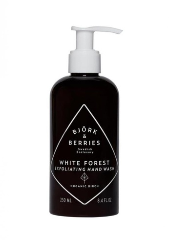 Bjork & Berries White Forest Exfoliating Hand Wash BJ508BE0GMK7SG_1