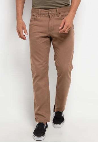 Watchout! Casual beige Basic Long Pants 61900AADC2758CGS_1