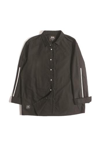 970dca124eacc Buy JSMIX Plussize SG Sleeve White Stripe Long Sleeve Plus Size Men Shirt  Online on ZALORA Singapore