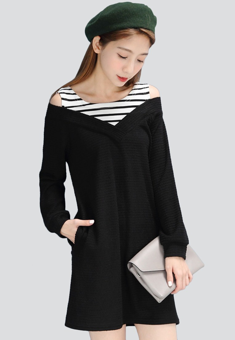 Cozy Up Knit 2-in-1 Dress