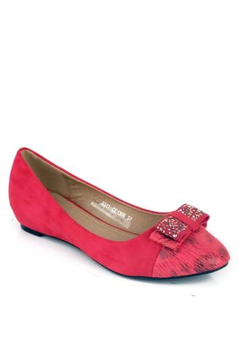 INSIDE red Inside Flats Shyla Maroon IN074SH51CUEID_1