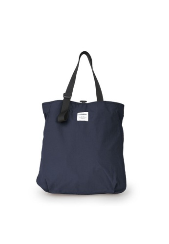 Hellolulu grey and blue Hellolulu Jonna Double Sided Versatile Tote (Prussian Blue/Iron Gray) A342EAC9D91D81GS_1