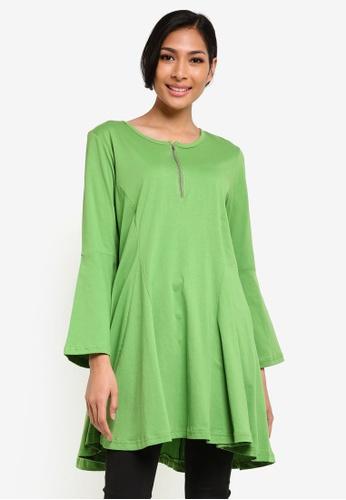 Wafiyya by Dollscarf green Nursing Top WA375AA39QJOMY_1