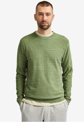 Selected Homme green Crew Neck Jumper C839AAAAD98E48GS_1