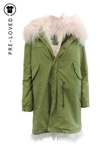 Mr & Mrs Italy green Pre-Loved mr & mrs italy Lamb Fur Jacket 1B325AA119B578GS_1