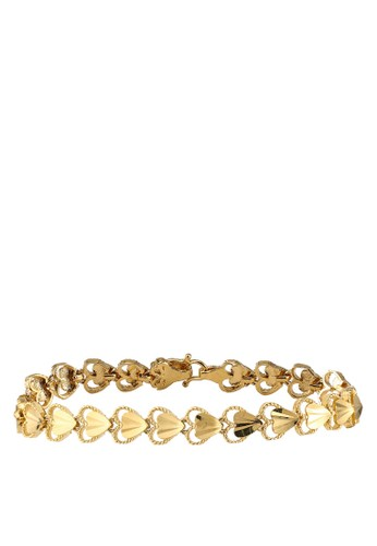 Megane gold Chenta Gold Plated Bracelet 6BC61ACCFB8E94GS_1