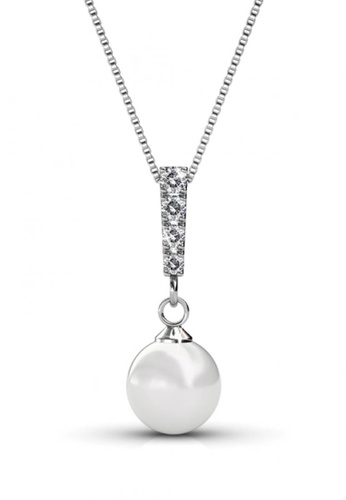 Her Jewellery white Her Jewellery Mercury Pendant with Necklace Chain with 18K Gold Plated 9AB49AC3997459GS_1