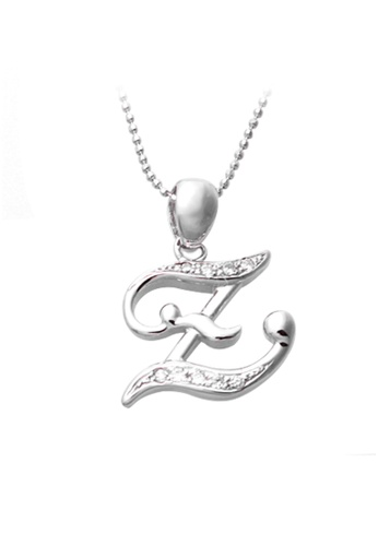 """The LoveMark silver Capital """"Z"""" Necklace TH516AC20ZNFPH_1"""