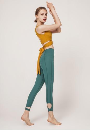 HAPPY FRIDAYS Women's Bandage Style Yoga Fitness Suit DSG190605 F78BBAA8F87DE5GS_1