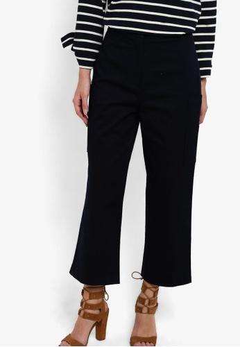 25f538ef46db Buy WAREHOUSE Wide Leg Cropped Trousers Online on ZALORA Singapore