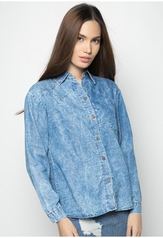 Acid Wash Shirt