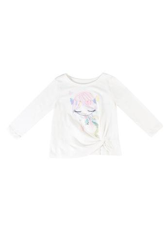 GAP multi Bea Graphic Twist T-Shirt 3A164KAC39BDBAGS_1