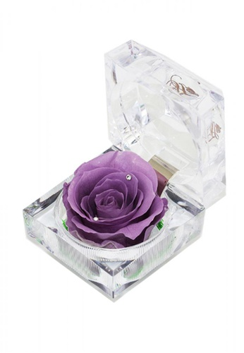 Her Jewellery purple Everlasting Preserved Rose - Rose in Ring Box (June, Alexandrite) FC408HLC519ECFGS_1