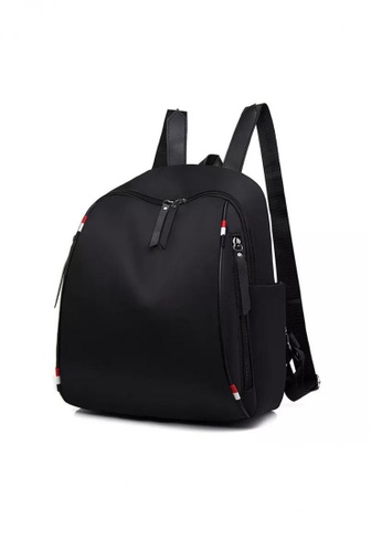 Lucky JX black Magna Korean Durable Backpack 4B807AC95470A9GS_1