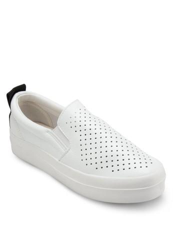 Love 透氣沖孔懶人鞋, 女鞋, esprit 衣服鞋