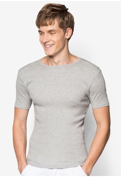 Grey Marl Essential T-Shirt