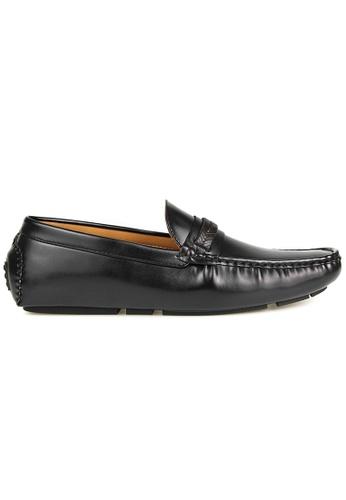 Tomaz black Tomaz C397 Leather Tassel Moccasins (Black) B405ASH64200C3GS_1