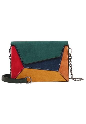 Lara multi Women's Colorblock Sling Bag 1E1A5AC474AAA2GS_1