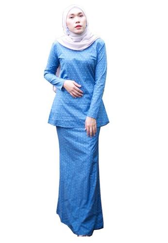 Stella Kurung Modern from Kamelia in Blue