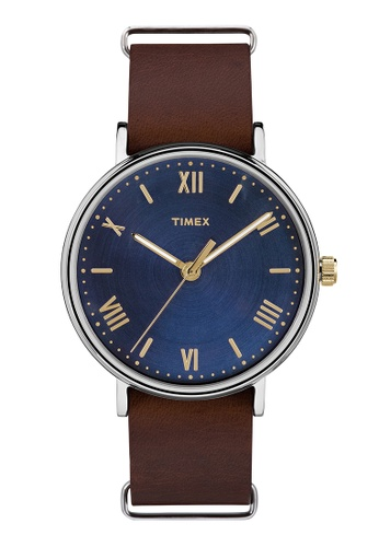 TIMEX blue and brown Timex Southview® 41mm - TW2R28700 TI205AC0RET9MY_1