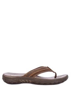 c437425cc85b62 Skechers brown Reggae Cobano Thong Sandals 38BF1SH0E1D35DGS 1