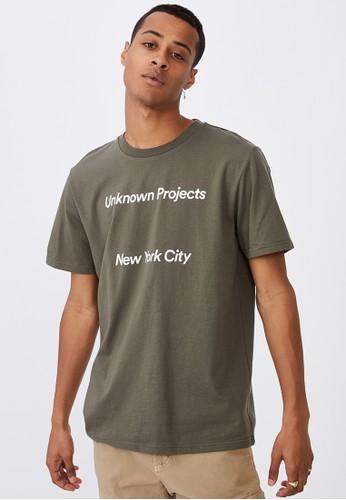 Cotton On green Tbar Street T-Shirt 73437AA63D492CGS_1