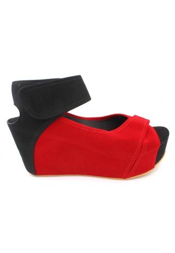 midzone red MIDZONE Lady Fashion Wedges E8A46SHC9DD7BDGS_1