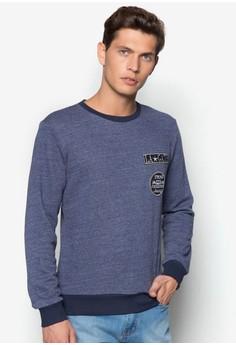 Sweatshirt with Badges