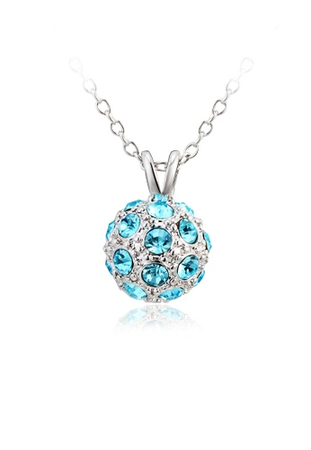 OUXI blue OUXI Happiness Necklace OU821AC03VHGMY_1