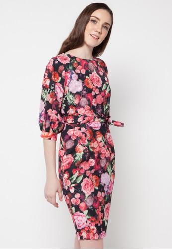 Raspberry black Allison Mini Dress RA572AA56EWDID_1