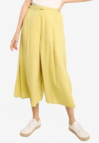 LOWRYS FARM yellow Belt Culottes 0B1C4AAA3C8961GS_1