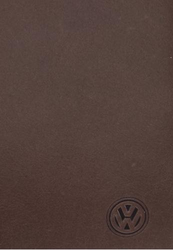 Volkswagen brown Volkswagen Genuine Leather Bi-Fold Long Wallet VO089AC0SMASMY_1