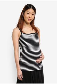9e0ce5d71cf6b Spring Maternity black Maternity Corey Pump   Nurs Camisole  6E151US0D57994GS 1