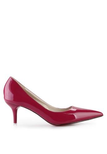 Mandy's Mignonne Purple Heels