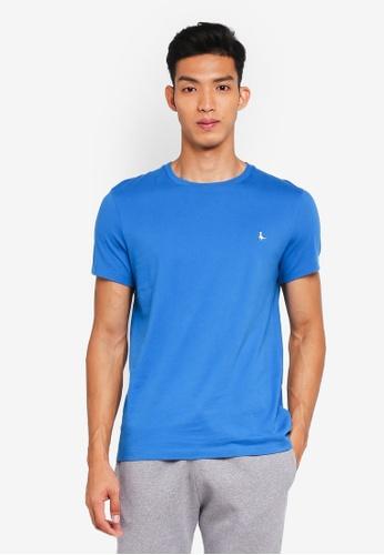Jack Wills blue Sandleford T-Shirt B1141AA461D0D0GS_1