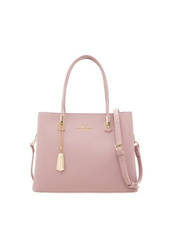 Valentino Creations pink Valentino Creations Rossie Handbag 0ABECAC6077714GS_1