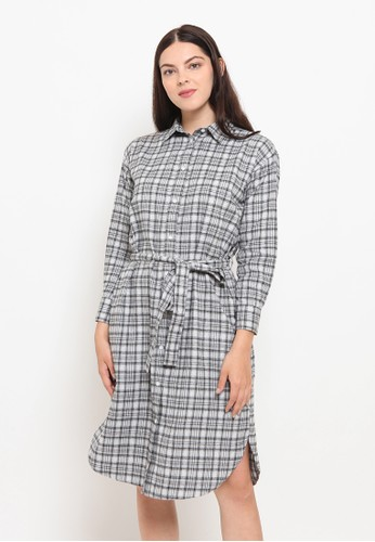 A & D grey MS 1403 Olla Dress Grey 7B173AA0B09258GS_1