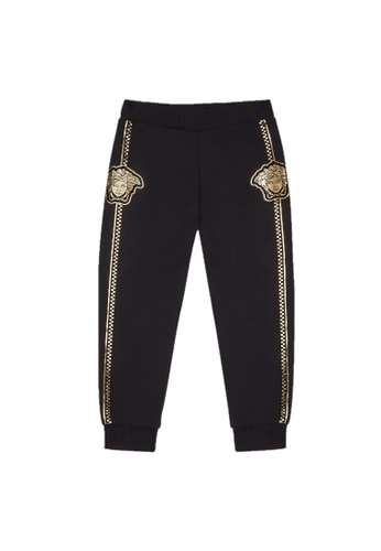 Versace black VERSACE TEEN BOYS LONG PANTS DDAE3KA23D6796GS_1