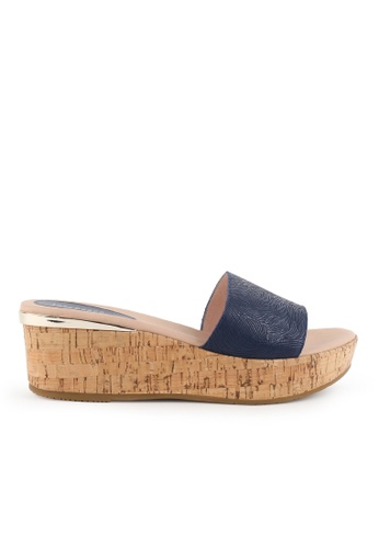 Joy & Peace blue Cork Sandals JO458SH80JMDHK_1