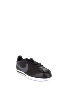 c9134fcae748a Nike black Classic Cortez Leather Shoes 64CE2SH3BCE6D0GS 1 Nike Classic  Cortez Leather Shoes Php 4