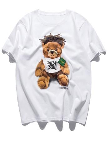 HAPPY FRIDAYS Trend Printed Short T-shirt RS1163 E1CD6AADAE25E8GS_1