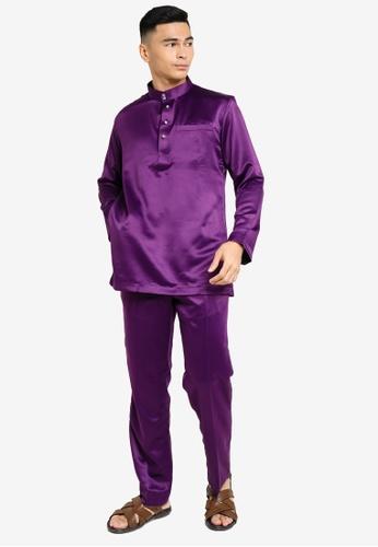 REALFANTASY purple BAJU MELAYU SHAH ISKANDAR 49039AAE27D037GS_1