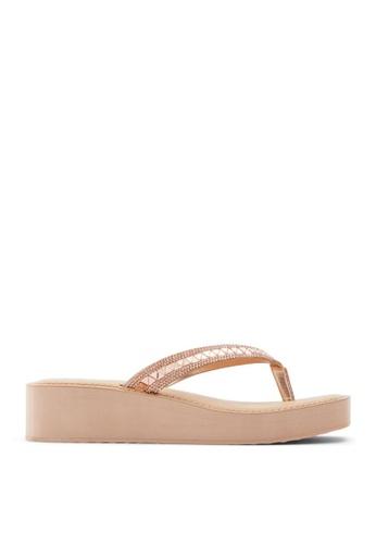 ALDO Acrylic Wedge Heels 1960/'s Style