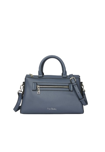 Pierre Cardin blue Pierre Cardin Premium Medium Boston Bag 74E2CACB3D46B6GS_1