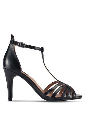 ONLY black Labby Pu Strappy Heels 79683SHCF7E04EGS_1