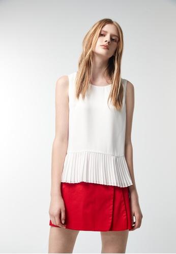 iROO white Basic Vest 8B8CBAA5F33B3FGS_1